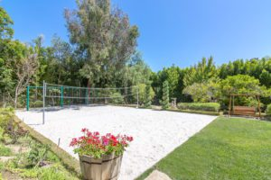 backyard sand volleyball court, luxury real estate , orange county