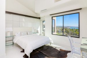 OC Real Estate Photography - Amazing All White Bedroom - Newport Beach