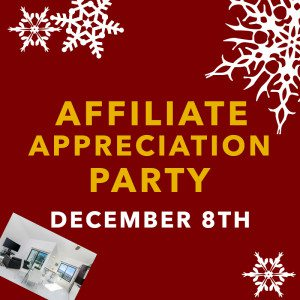 affiliate appreciation party, orange county, o