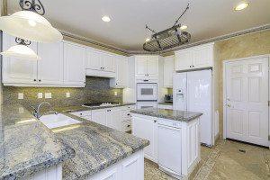 Orange County Real Estate Photo , All White Kitchen