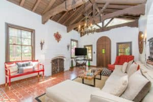 spanish style living room, los angeles homes , room ideas