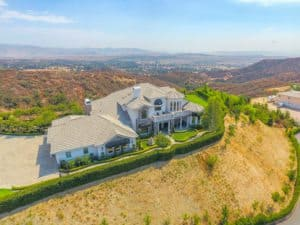 villa, big house, luxury real estate, modern landscaping, beautiful view