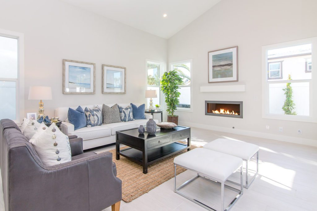 beautiful home, blue and grey living room decor,ideas